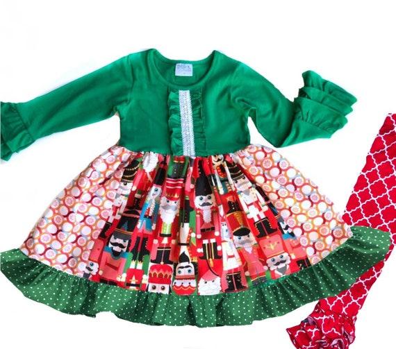 c693bf72a Girl s Nutcracker dress toddler Christmas Nutcracker