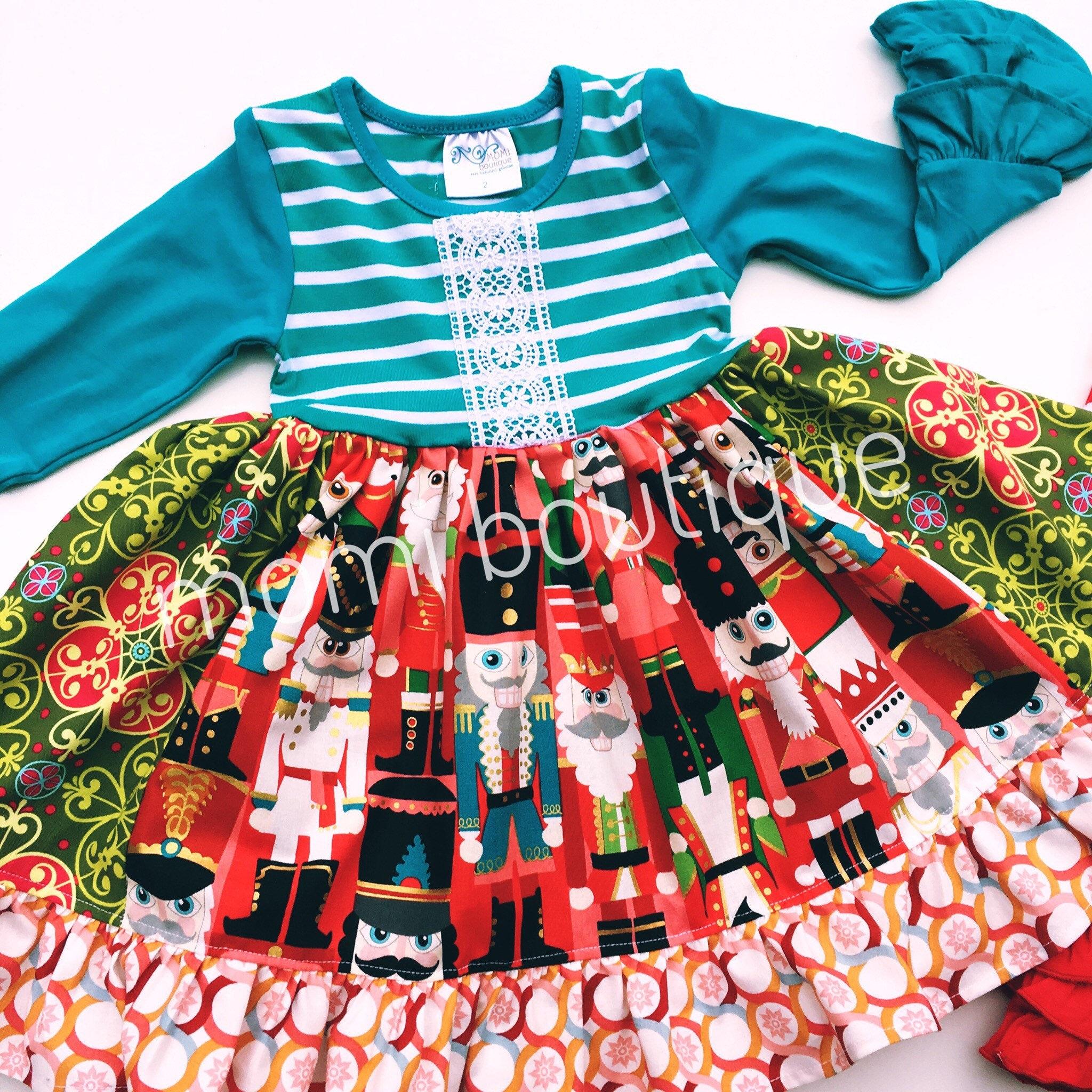 5e633fea2a0c6 Girl's Nutcracker dress toddler Christmas Nutcracker | Etsy