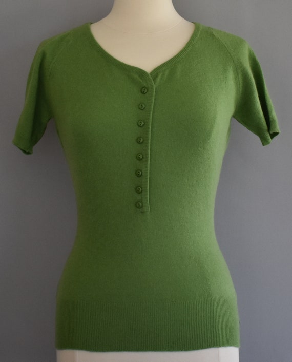 50s Christian Dior Cashmere Sweater, Lyle and Scot