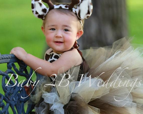 Safari Giraffe Costume With Leg Warmers Baby Costume Girls Costume Toddler Tutu Costume Giraffe Baby Costume - Girls 8