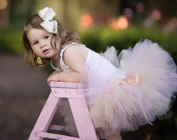 Blush Skirt Baby Tutu Baby Tulle Skirt Mommy and Me Tutu Pink Skirt Pink Tutu Skirt Toddler Skirt Birthday Skirt
