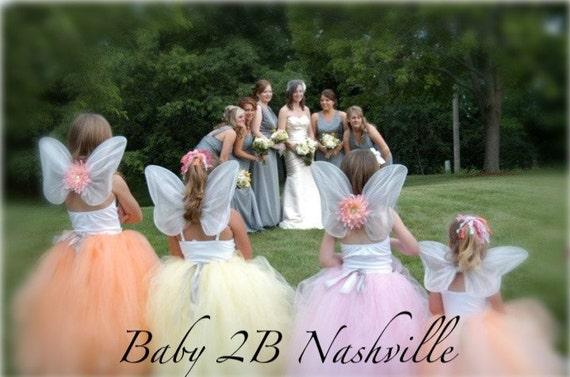 Wedding Dress Skirt Flower Girl Dress Skirt Tulle Skirt Tutu Skirt Baby Skirt Toddler Skirt Girls Skirt Your Color Choice Skirt
