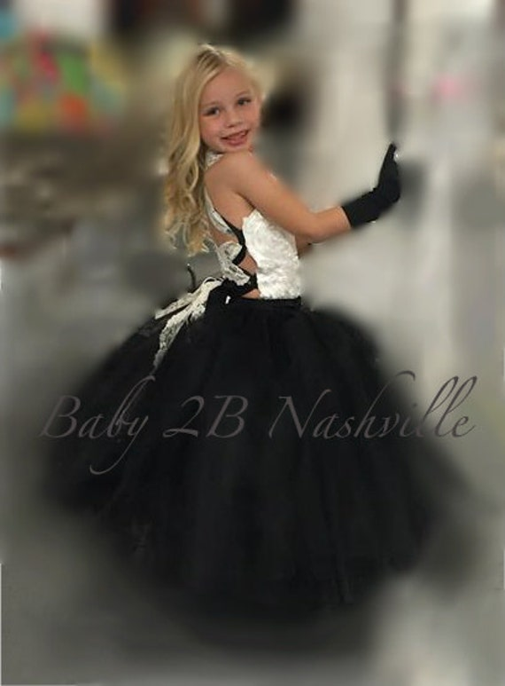Ivory Dress Black Dress Wedding Dress Flower Girl Dress Baby Dress Satin Dress Tulle Dress Tutu Dress Toddler Dress Girls Dress Party Dress