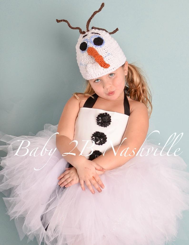 93d2b722b62 Snowman Tutu Costume Set Girls Snowman Costume Snowman Tutu
