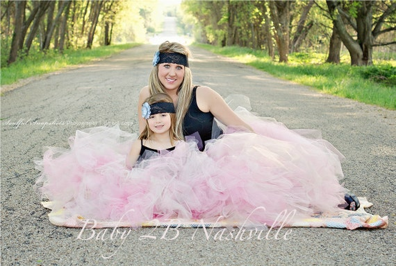 Mommy and Me Tutu Mommy and Me Outfit Wedding Skirt Wedding Tutu Tulle Skirt Bridal Skirt Bridesmaid Skirt Bridal Tutu Skirt Costume Tutu