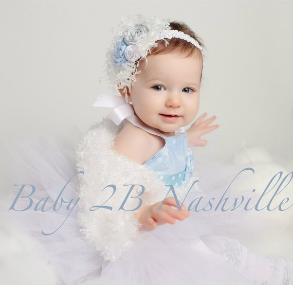 Winter Onederland Dress Birthday Dress Snow Princess Dress  Baby Tutu Dress Toddler Dress Snowflake Dress Winter Dress  Complete Set