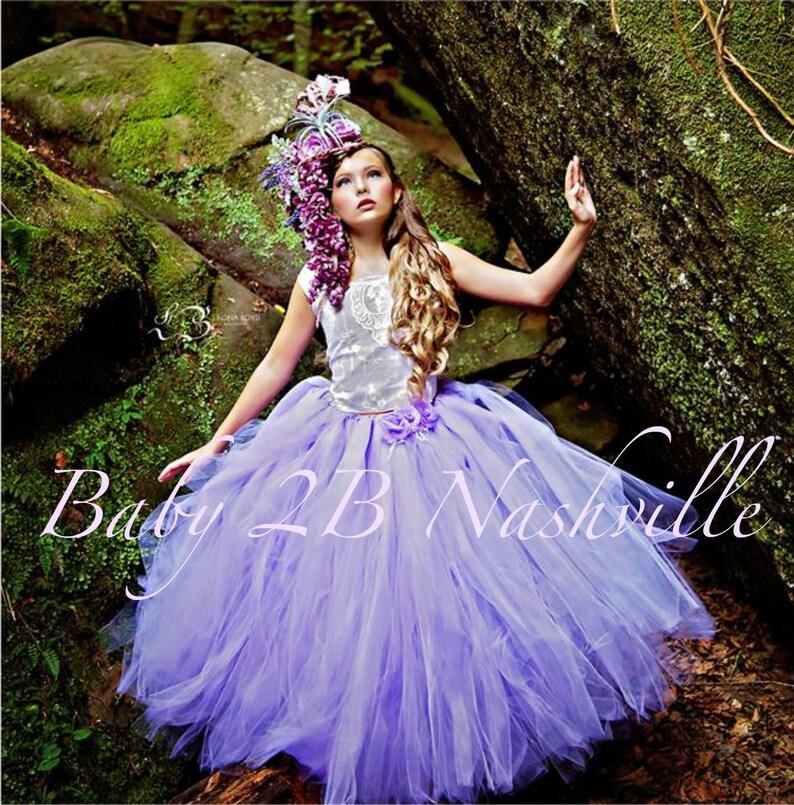 d548512bb9f Robe lavande camée dentelle robe robe violette Tulle robe