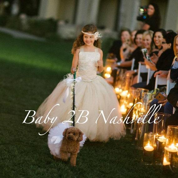 Vintage Dress Ivory Dress Sequin Dress Lace Dress Flower Girl Dress Tulle Dress Party Dress Toddler Tutu Dress Girls Dress Wedding Dress