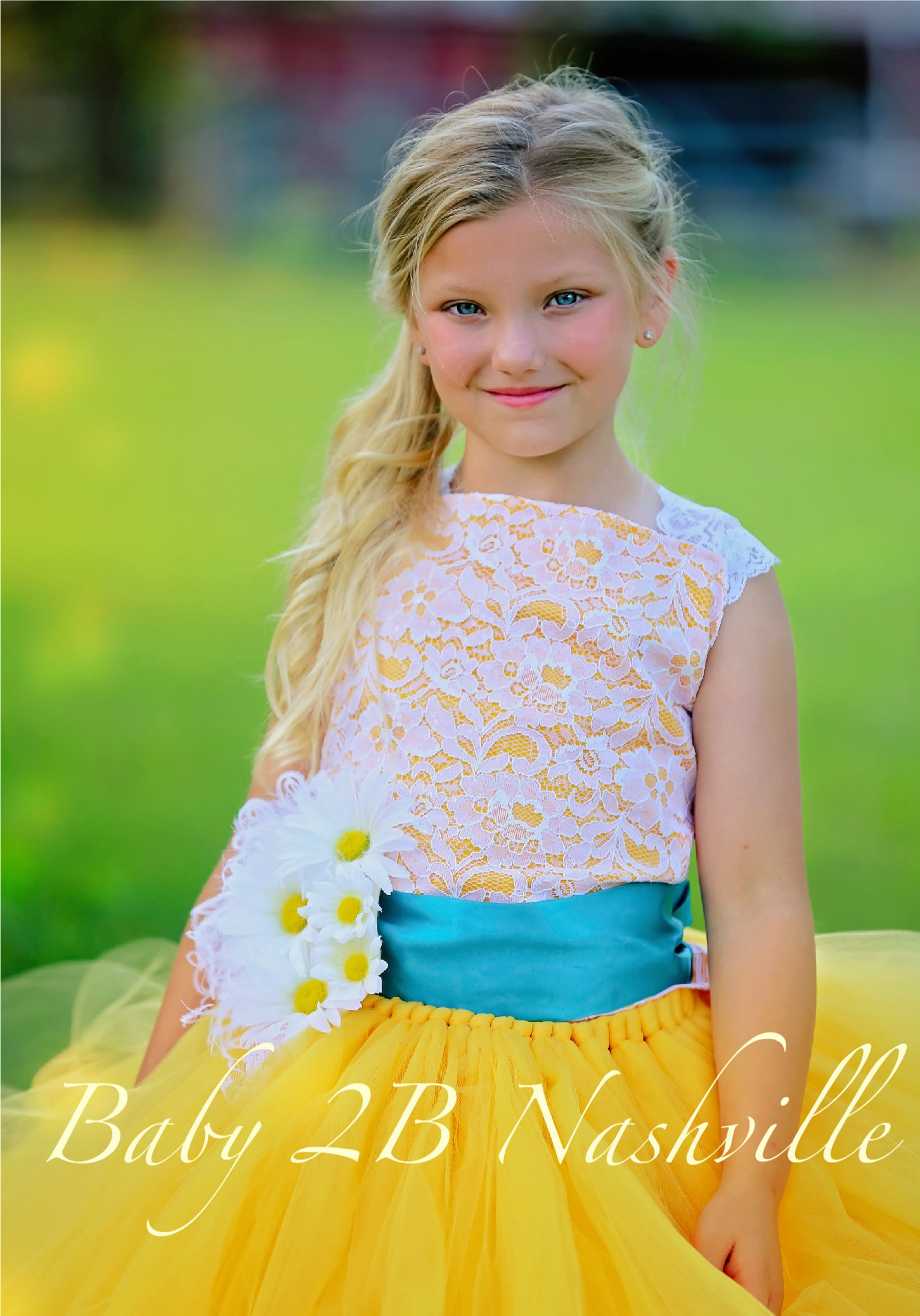 1febf28fbd7a Daisy Dress Yellow Dress Flower Girl Dress Lace Dress Tulle