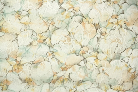 1930s Vintage Wallpaper By The Yard Faux Finish Of Brown Etsy