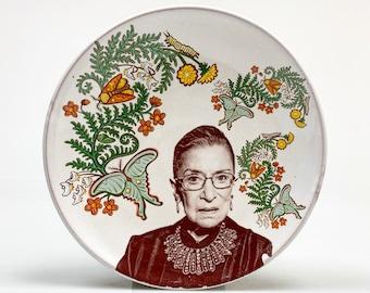 Ruth Bader Ginsburg plate