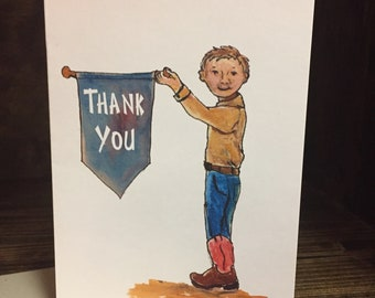 Thank You Greeting Card | Stock Show Thank You Card