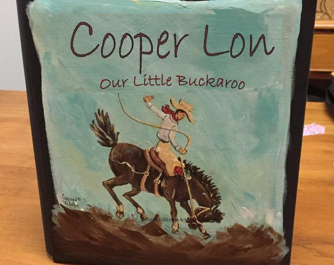 Buckaroo Baby Memory Book | Cowboy Baby Book