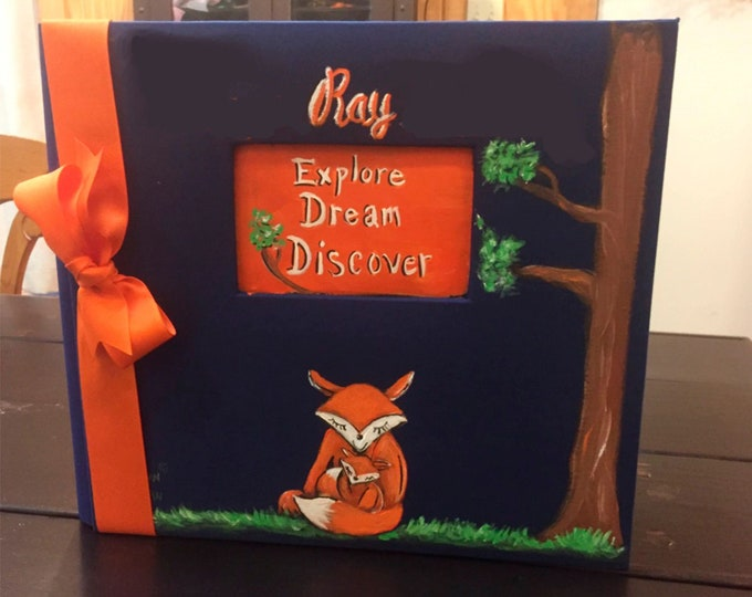Little Fox Baby Memory Book | Explore Dream Discover Baby Memory Bookk