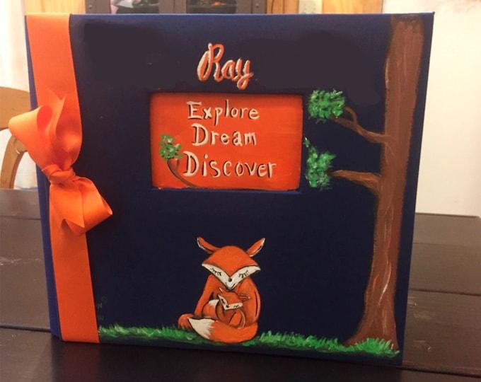 Little Fox Baby Memory Book | Explore Dream Discover Baby Memory Bookk