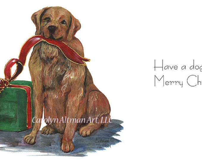 Have a Doggone Merry Christmas - Package of 20 Christmas Cards