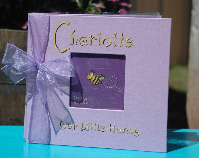 Little Bee Baby Memory Book