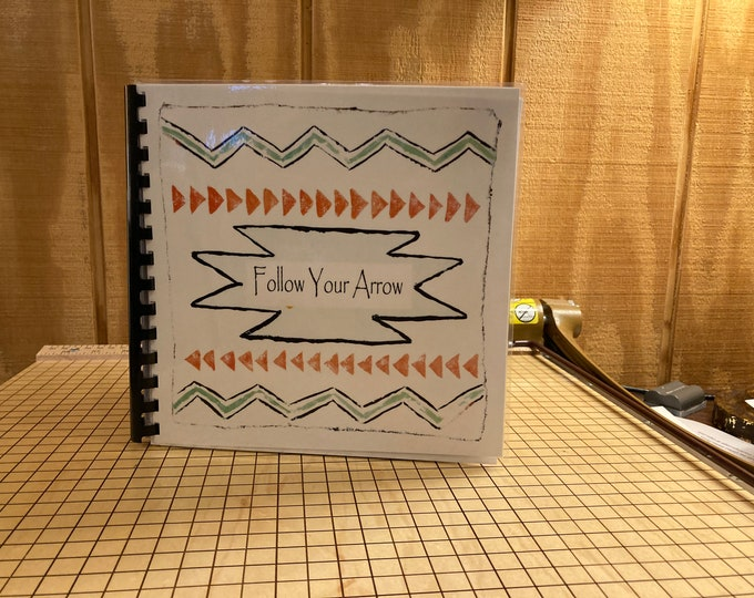 """Follow Your Arrow Baby Memory Book 