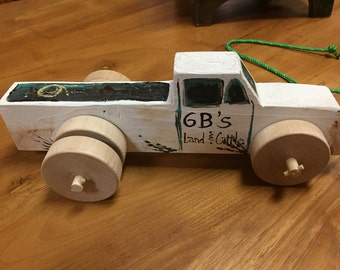 6B's Land and Cattle Truck by Stan Altman