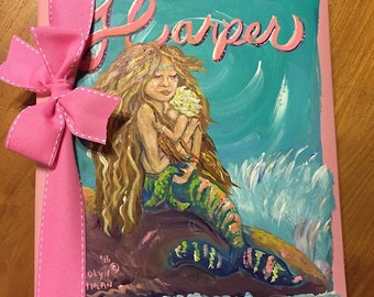 Mermaid & Baby Baby Memory Book