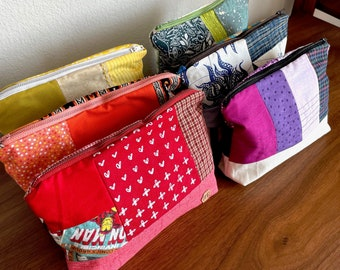 Rainbow Patchwork Bags