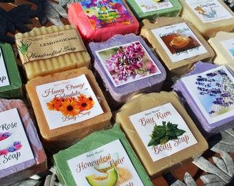 32 Bars of Artisan Soap* Bulk Soap Box. Made in NY.