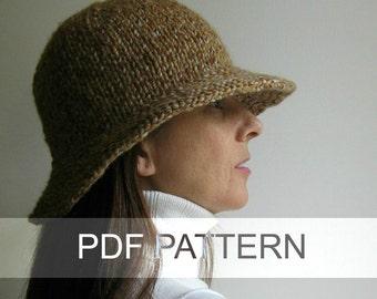 Bucket Hat PDF Knitting Pattern