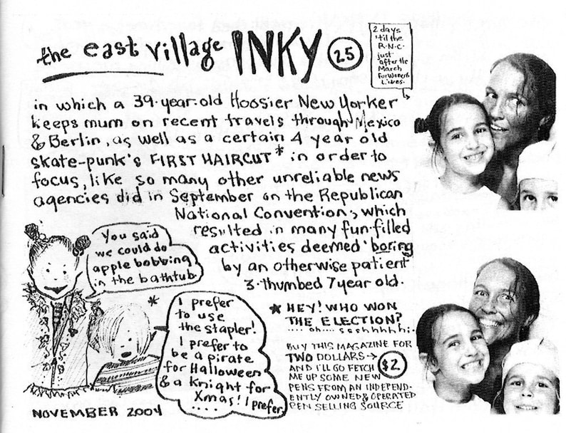 The East Village Inky Issue No. 25 image 0