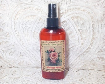 Room Spray Vintage Rose - 4 ounce bottle