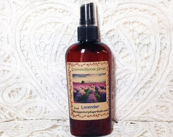Lavender Room Spray,  lavender scent, floral scented spray, mother's day, teacher gift, housewarming gift, Moeggenborg Sugar Bush
