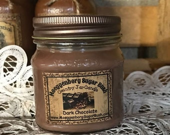 Jar Candle - Half Pint - Dark Chocolate