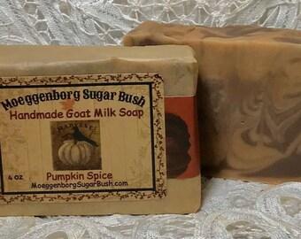 Pumpkin Spice Soap, set of 3, soap,autumn scented, pumpkin fall soap,Moeggenborg Sugar Bush,Country wares,housewarming, teacher