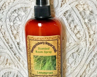 Room Spray Lemongrass - 4 ounce bottle