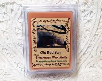 Wax Melts, Tart Melts, Old Red Barn, Country Bumpkin, wax tart melts, clamshell tarts, teacher gift, Moeggenborg Sugar Bush, candle melts