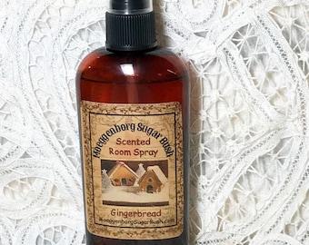 Room Sprays Gingerbread - 4 ounce bottle