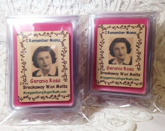 Wax Melts-Geranio Rosa