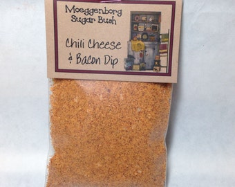 Chili Cheese Bacon Dip Mix, Nacho dip mix, Moeggenborg Sugar Bush