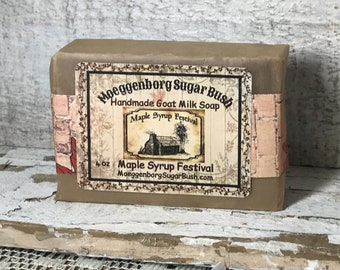 Maple Syrup Festival Goat Milk Soap