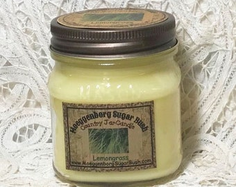 Jar Candle - Half Pint - Lemongrass