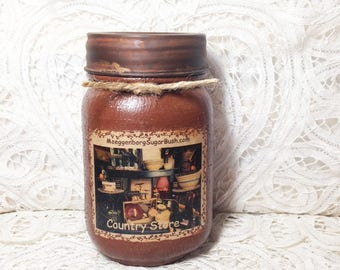 Grungy Jar Candle -Country Store - pint