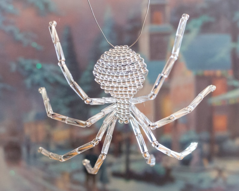 Silver Christmas Spider Legend of the Christmas Spider image 0