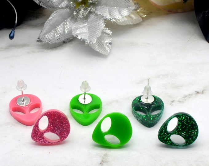 Outta This World Stud Earrings - PYO Color - 1 pack - 3 pack -PYO Pack