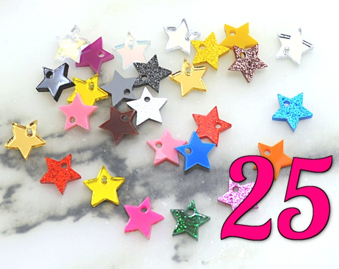 MINI STAR CABS - 25 Piece Lot Made From Laser Cut Acrylic