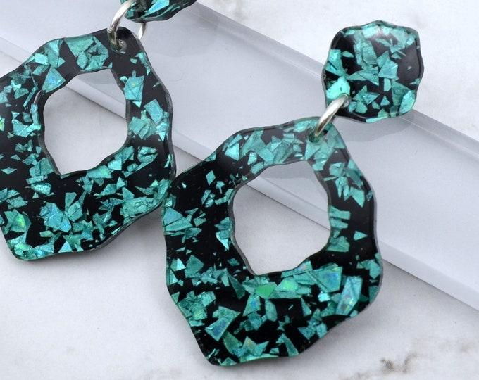 FUN AND FLIRTY Laser Cut Acrylic Dangle Earrings