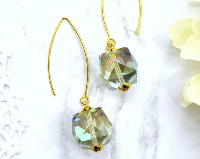 Radiant Regency Dangle Earrings
