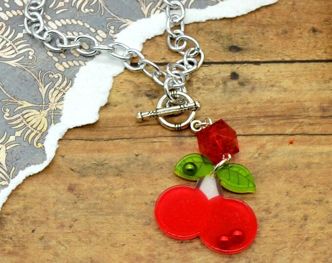 Cherry Bling - Necklace