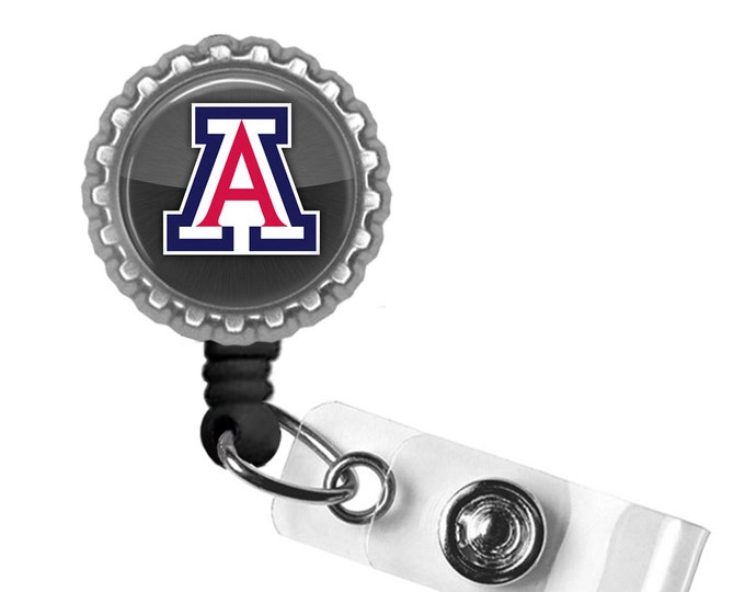U of A Pride - University of Arizona - Retractable Badge Reel ID Holder