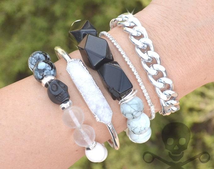Trend Setter Stack - 5 Bracelet Set