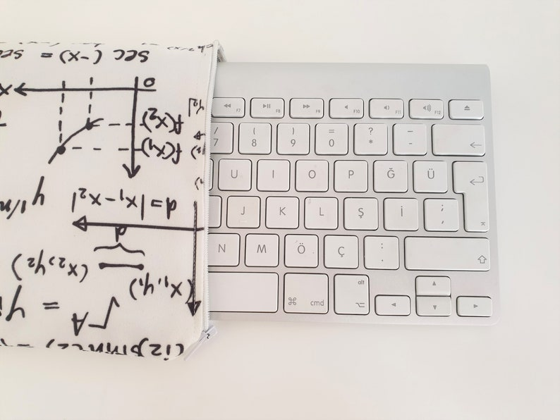 MATH Wireless Keyboard Sleeve Apple Magic Keyboard with Numeric Keypad- Padded and Zipper Closure Case Apple Magic Keyboard Sleeve