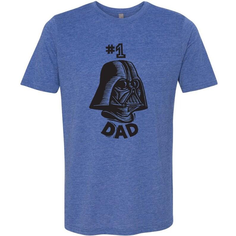 baa80f6ef Star Wars Shirt Dad Gift Darth Vader 1 Dad T-shirt | Etsy